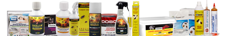 Catalogue produits anti nuisibles