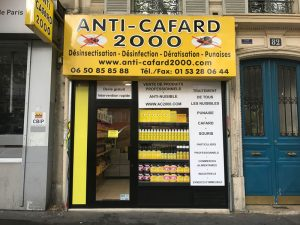 Magasin produits insecticides Paris