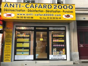 Magasin Anti-Cafard 2000 Paris 17