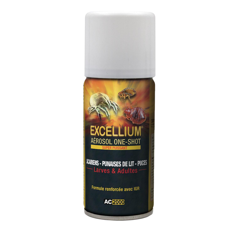 A rosol one shot contre les punaises de lit puces et acariens excellium - Prix desinsectisation punaise de lit ...