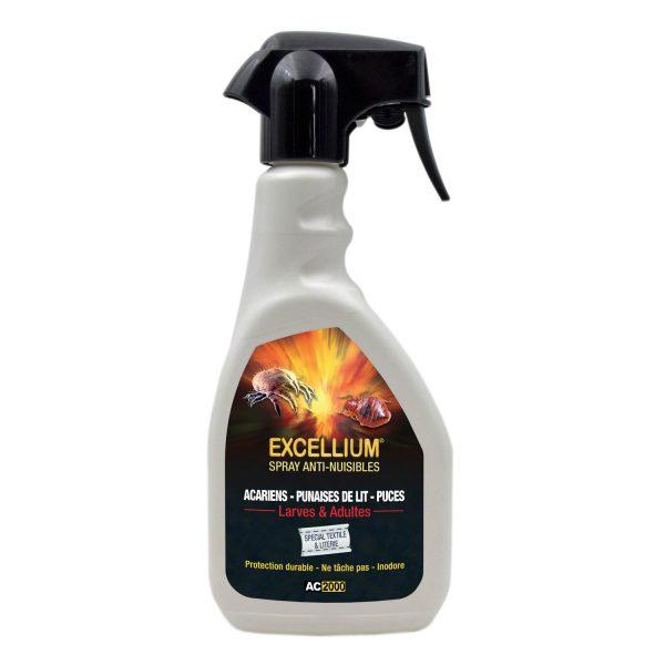 Excellium Spray anti-punaises de lit et acariens
